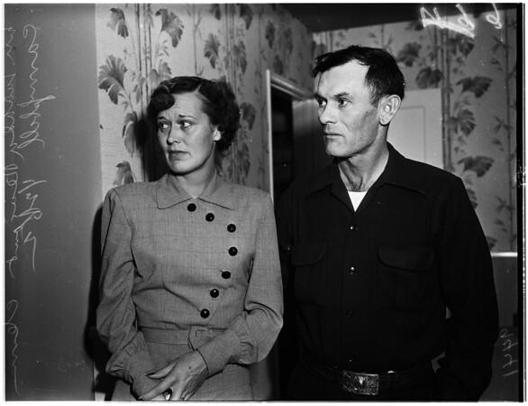 Baby-sitter murder, 1952