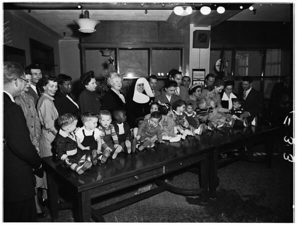 Baby adoption, 1951
