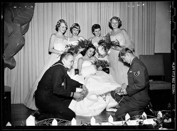 Cinderella Ball ...Pasadena Athletic Club, 1951