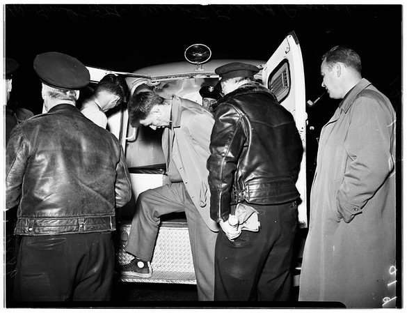 Police Shoot Two at 6th Street and Hauser Boulevard, 1951