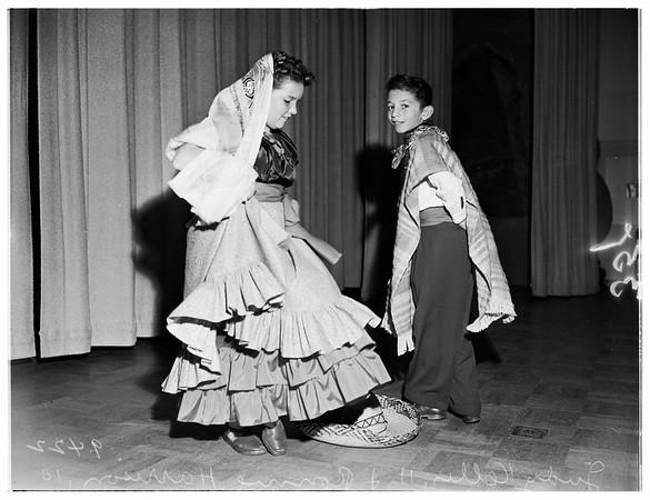 Las Posadas at Plummer Park ...Sponsored By Las Fiestas de las Americas, 1951