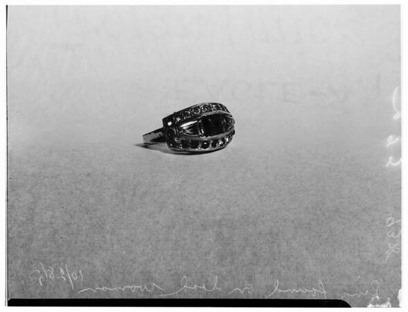 Body found in trunk, 1951