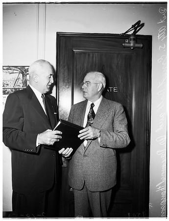 Police hearing ...Grand Jury, 1952