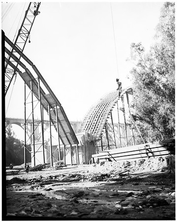 Colorado Freeway Bridge, 1952
