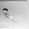 Swim school with underwater window, 1952