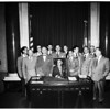 City Council members (no identification), 1952.