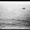 B-29 plane crashes in sea, 1952.