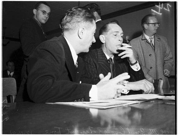 Tone in Court, 1951