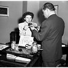Girls' Week Attorney General for a day, 1952