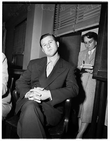 Marjorie Paige (not in picture), inquest, 1952