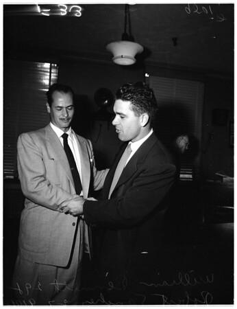 Police brutality case, 1952