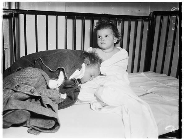 Children at Georgia Street Hospital (Ant Poison), 1951