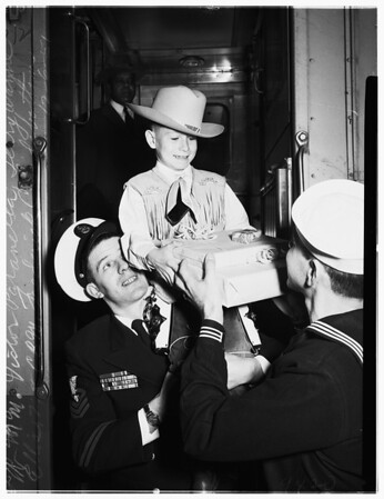 Arrival at Union Station, 1951
