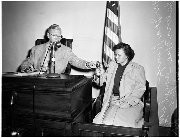 Isbell inquest, 1952