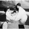 Baptism ceremony, 1952