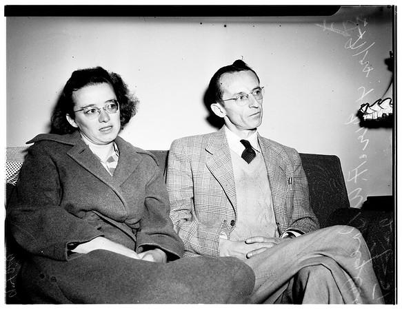 Holdup victims, 1951