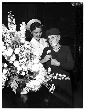 National Flower Week, 1951
