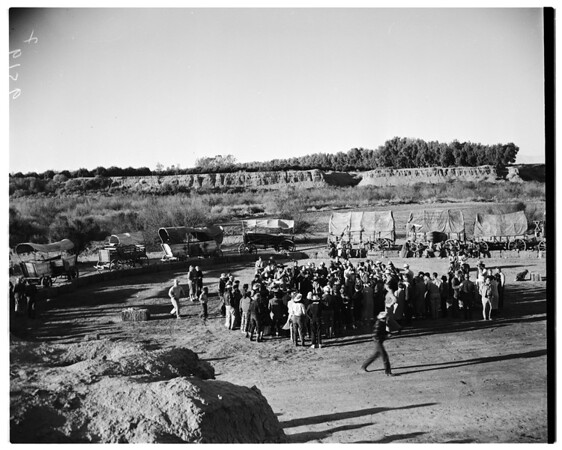 Desert cavalcade, 1952