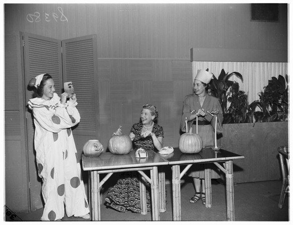 Santa Monica Swim Club Halloween, 1951