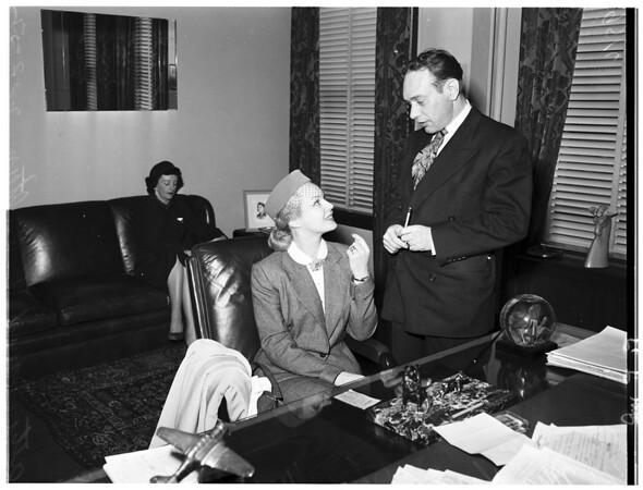 Mayo alimony, 1952