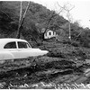 Beverly Glen Flood ...General views of wrecked houses, autos, etc., 1952