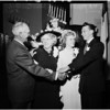 Wedding on grandparents anniversary, 1952