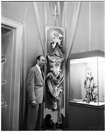 Art exhibit, 1952.