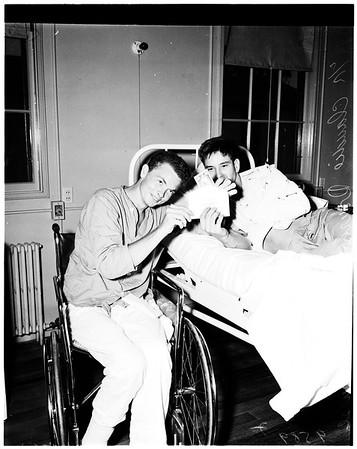 Examiner war wounded fund (Corona Navy Hospital), 1952