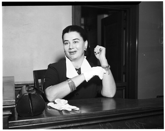 Cahn divorce, 1952