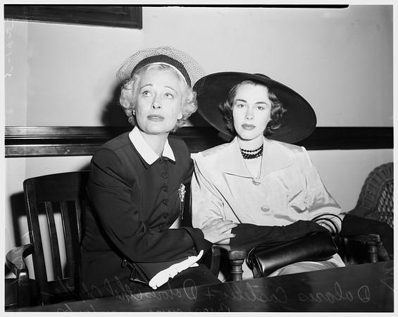 Fairbanks divorce, 1952