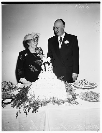 60th wedding anniversary, 1952
