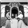 Marymount College seminar, 1952
