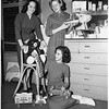 Assistance League Juniors at Assistance League Headquarters, Saint Andrews Place and De LongpreAvenue, 1951