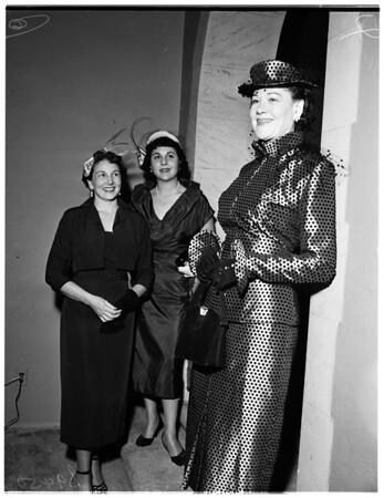 Boys' Club Auxiliary meets, 1951