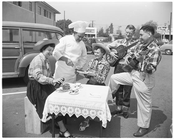Forty-niner's breakfast, 1952