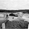 Flood pictures in Ventura ...general views after storm, 1952