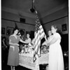 Gold Star mothers memorial services, 1952.