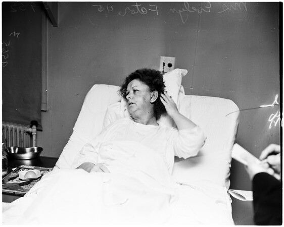 Robbery victim, 1952
