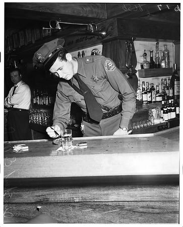 Scandia Restaurant holdup, 1952