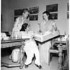 Bazaar at Indian House, 4866 Sunset Boulevard, 1951