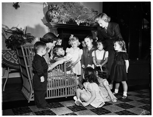 Archbishop's Christmas party, 1951