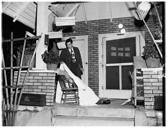 Body at 2319 1/2 Barlow Street, 1952