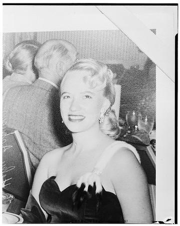 Helen Johnson ... (copy) ... no identification, 1952