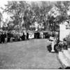 Memorial Day at Veterans Administration Center (Sawtelle), 1952