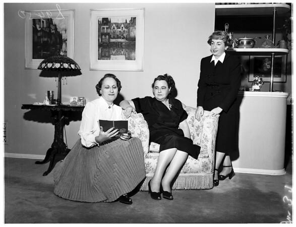 Temple Sisterhood Unity Day, 1951