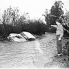 Rain and flood in Valley area, 1952
