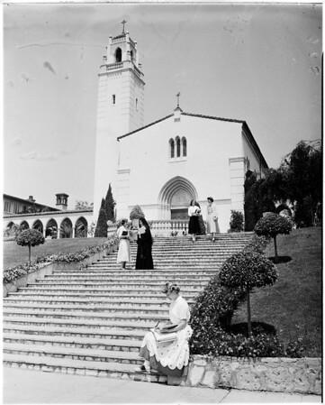 Mount Saint Mary's College seminar, 1952