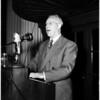 Warren political meeting (Biltmore Hotel), 1952