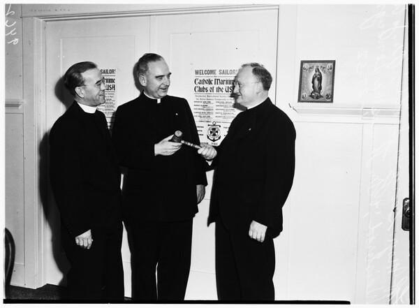 Gavel of presidency of Apostle of Sea, 1952