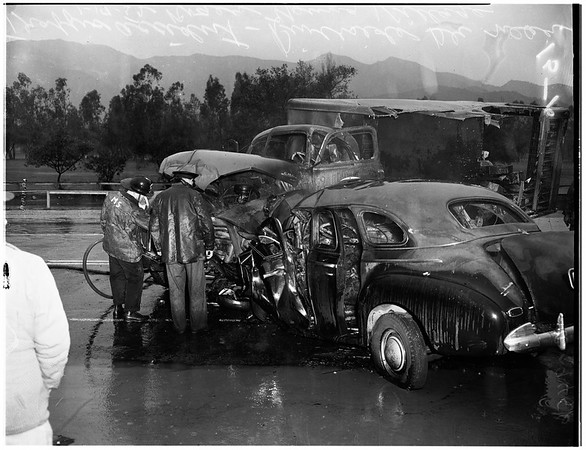 Traffic accident, 1952
